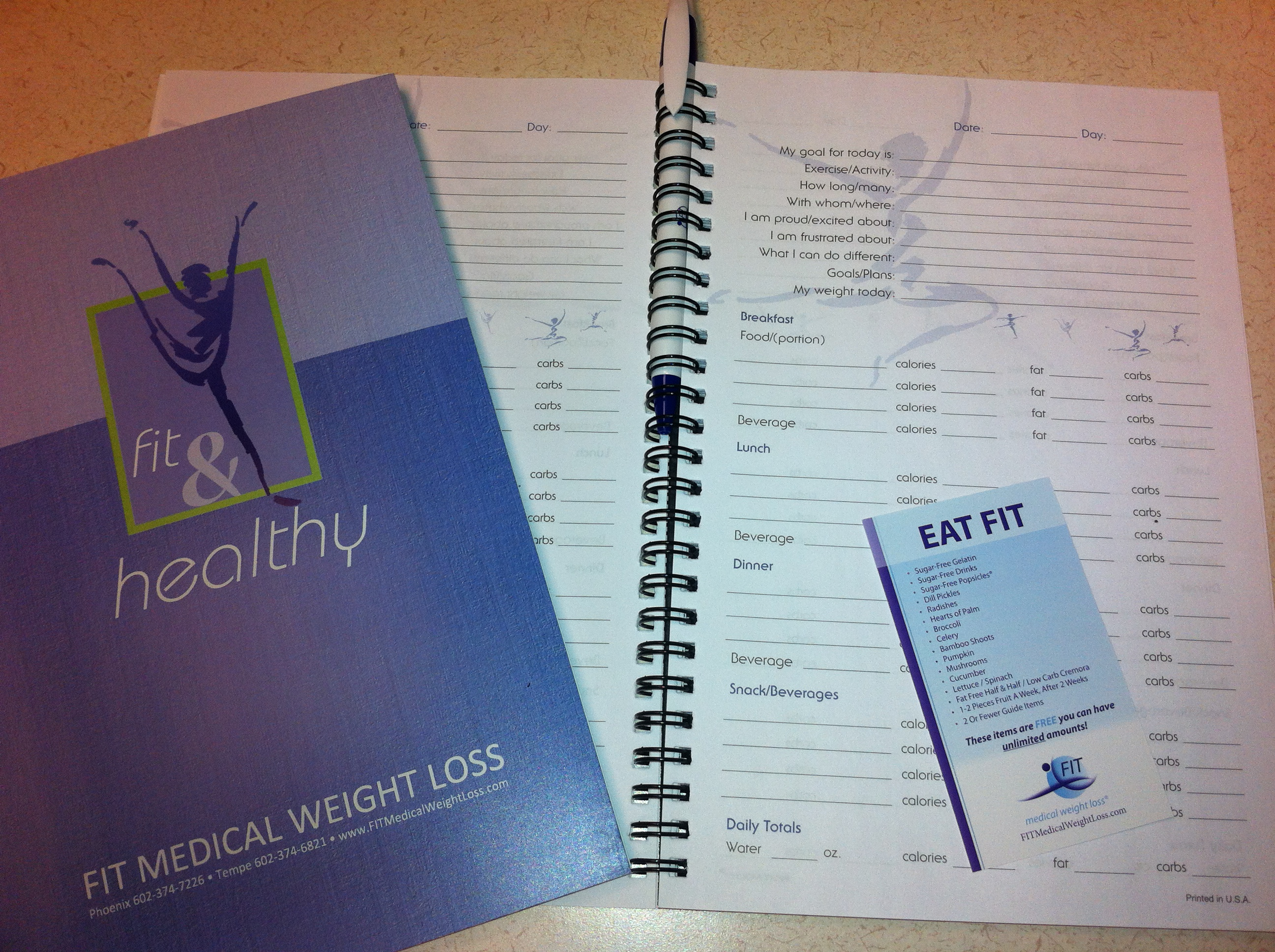 Using A Food Journal On A Weight Loss Program - FIT ...