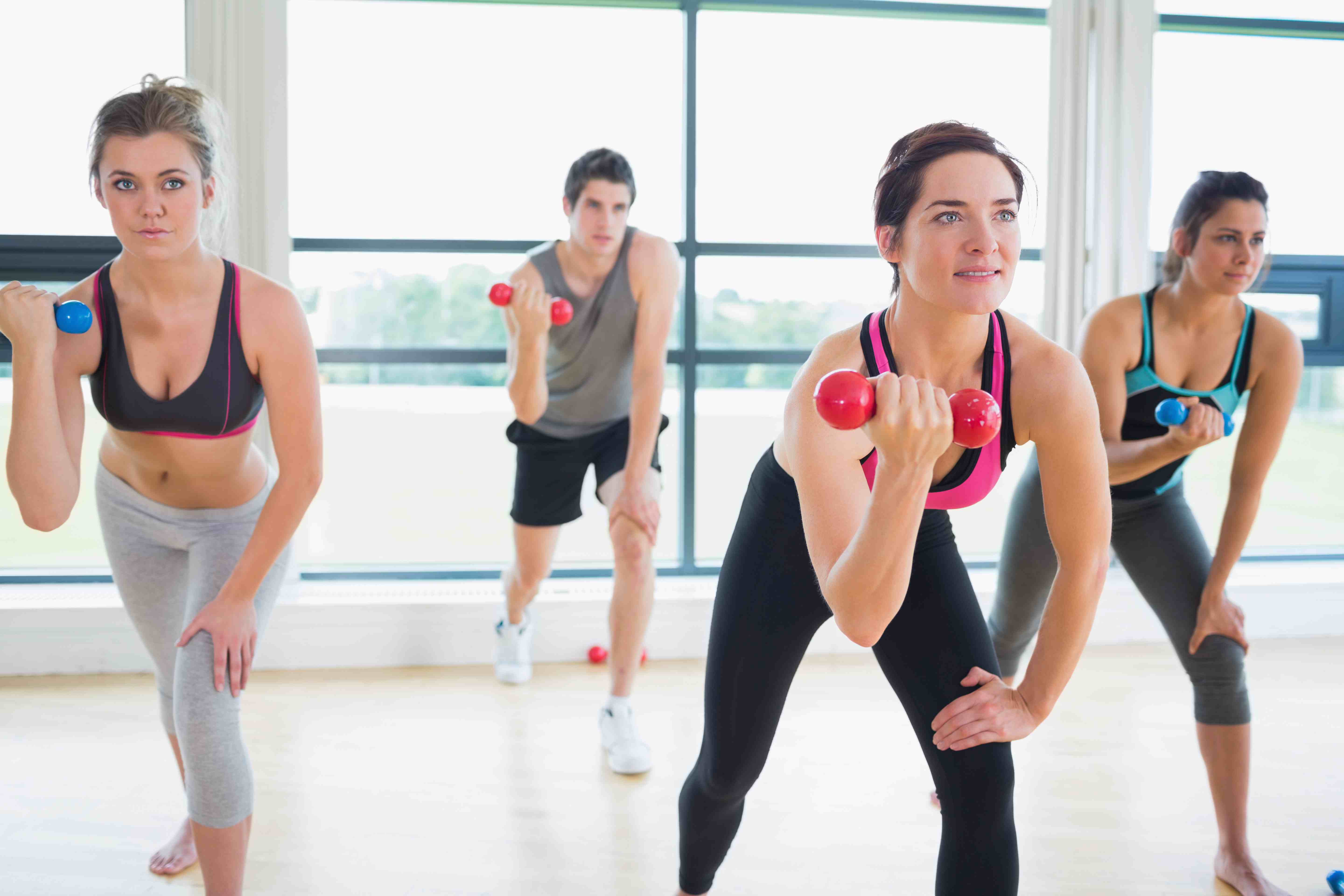 Common portals for fitness, aerobics: a selection of sites